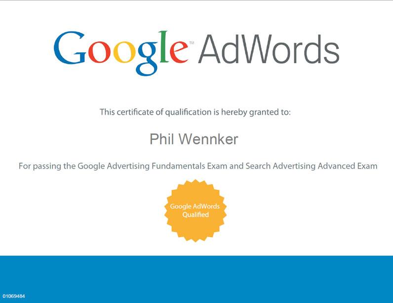 Qualifizierter Google AdWords Spezialist